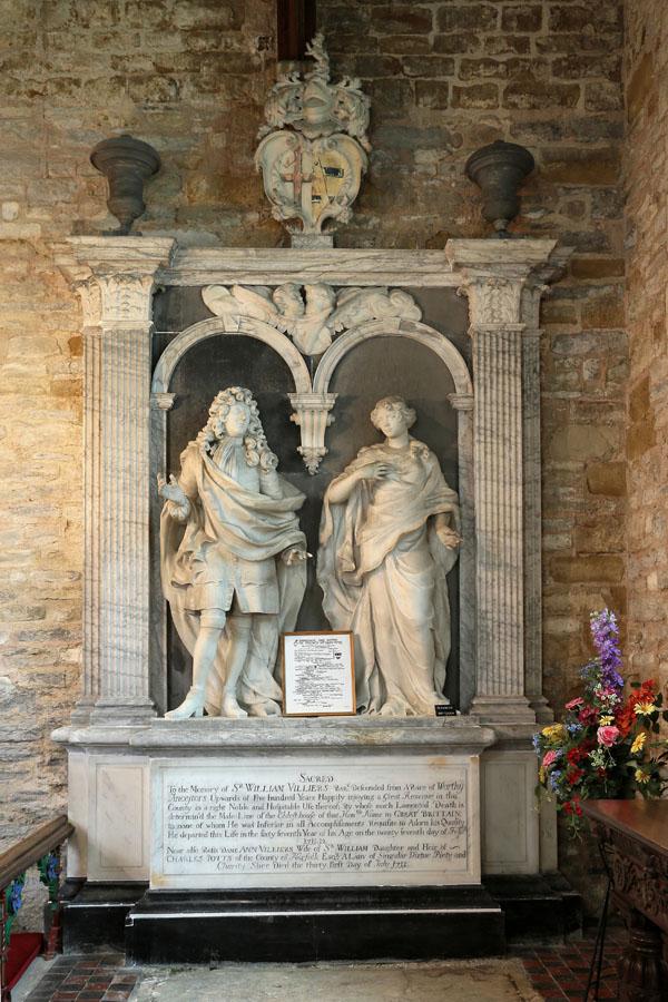 Villiers monument