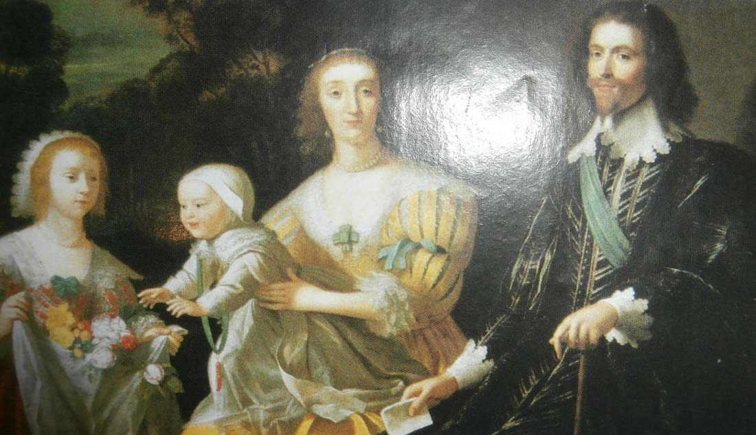 George Villiers and family