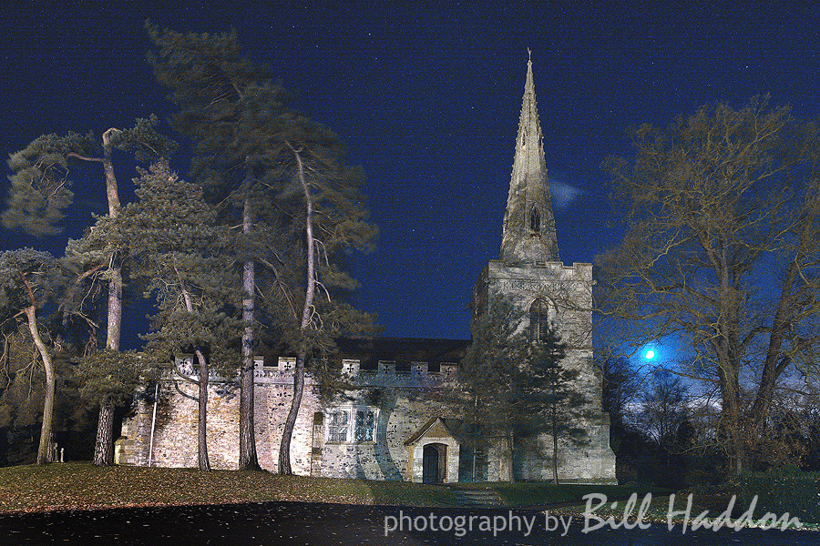 night-time at Brooksby