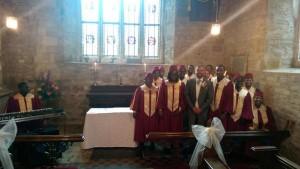 gospel choir at Brooksby